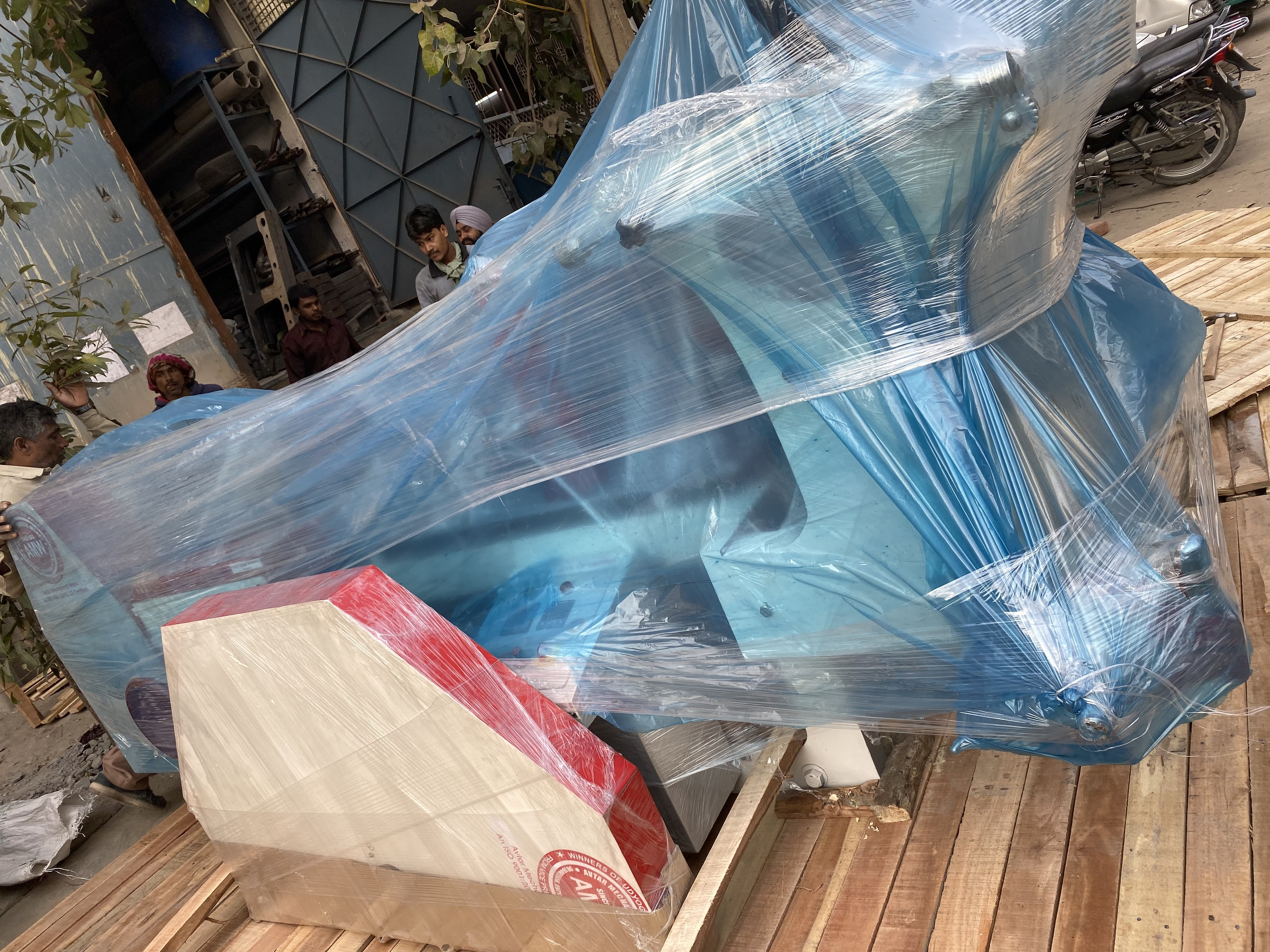 Paper Shopping Bag Making Machine