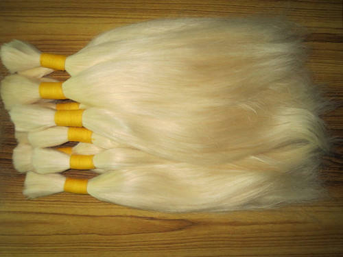 NEW DESIGN INDIAN VIRGIN 613 BLONDE BULK HAIR BUNDLES SUPPLIER