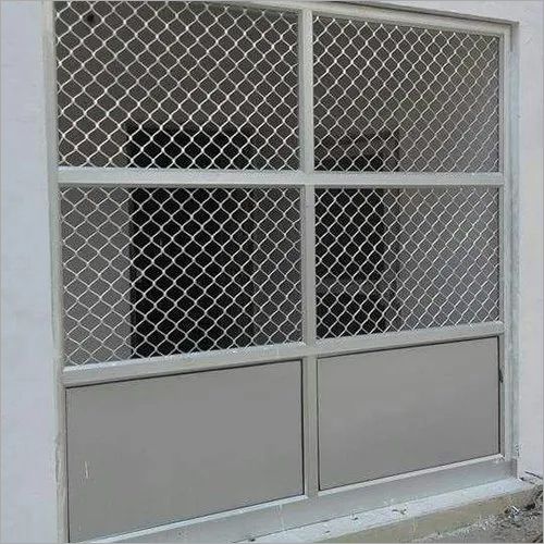 Aluminium Partition With Net