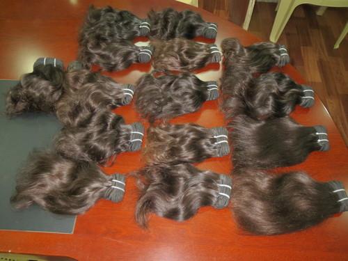 INDIAN REMY HAIR GRADE 9A 10A RAW NATURAL VIRGIN HUMAN HAIR EXTENSION