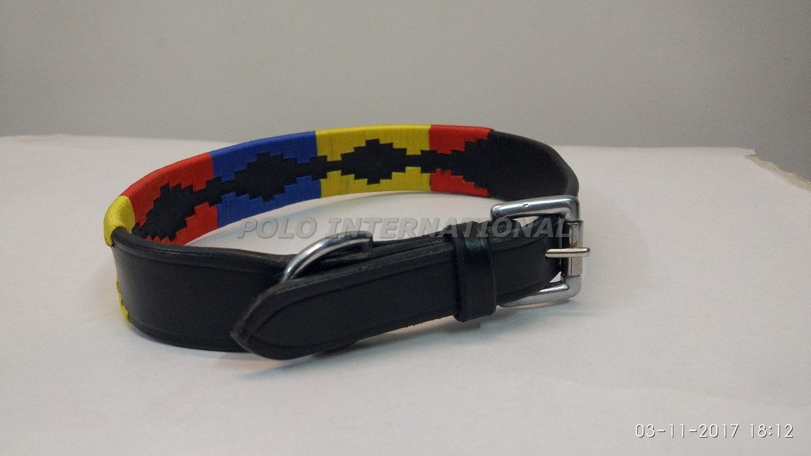 Multi Coloured Dog Collar