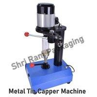 Portable Metal Tin Capper Machine