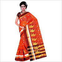 Ladies Handloom Cotton Silk Saree