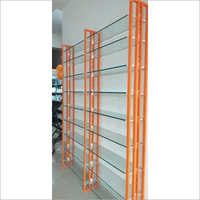 Showroom Glass Display Rack