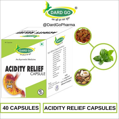 Dard Go Ayurvedic Acidity Relief Capsules