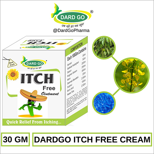 Dard Go Itch Free Ayurvedic Cream