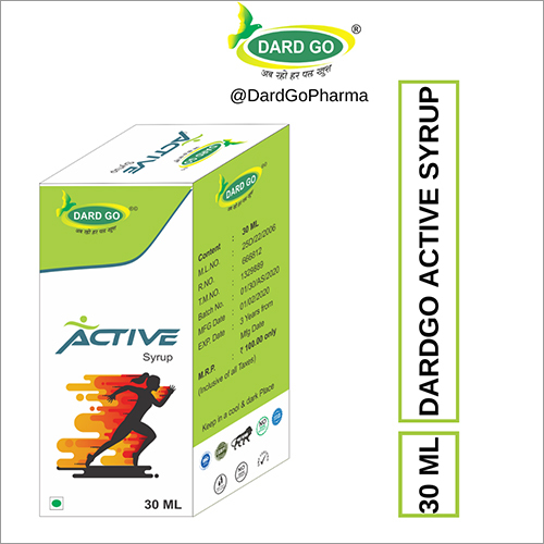 Dard Go Active Ayurvedic Syrup