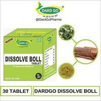 Dard Go Ayurvedic Dissolve Boll Tablet