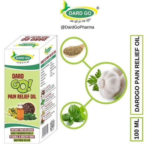 100 ml Dard Go Pain Relief Oil
