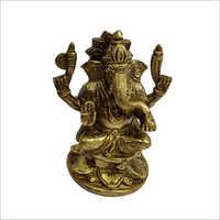 Brass Lord Ganesha Statue