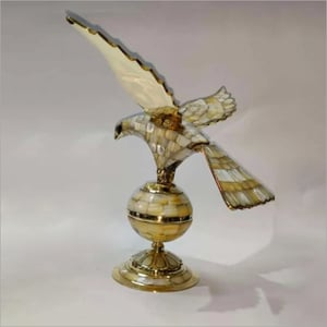 Rotating Eagle Brass And Mop