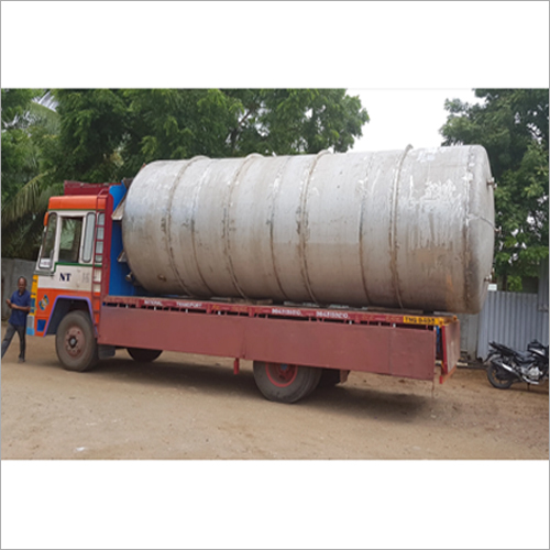 Stainless Steel Horizontal Chemical Process Tank