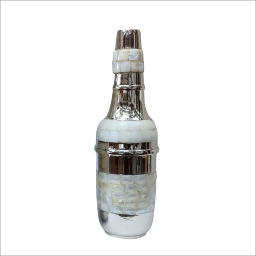 White Metal Fancy Bottle