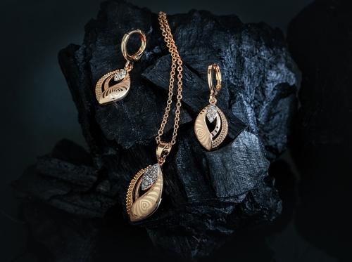 Micro Gold Chain Pendant