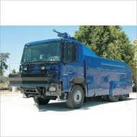 Fire Water Cane Or Riot Control Vehicle