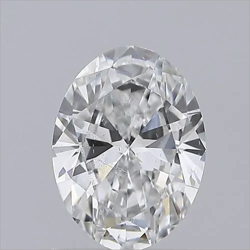 Oval Cut 1.00ct Lab Grown Diamond CVD D SI1 IGI Crtified Stone
