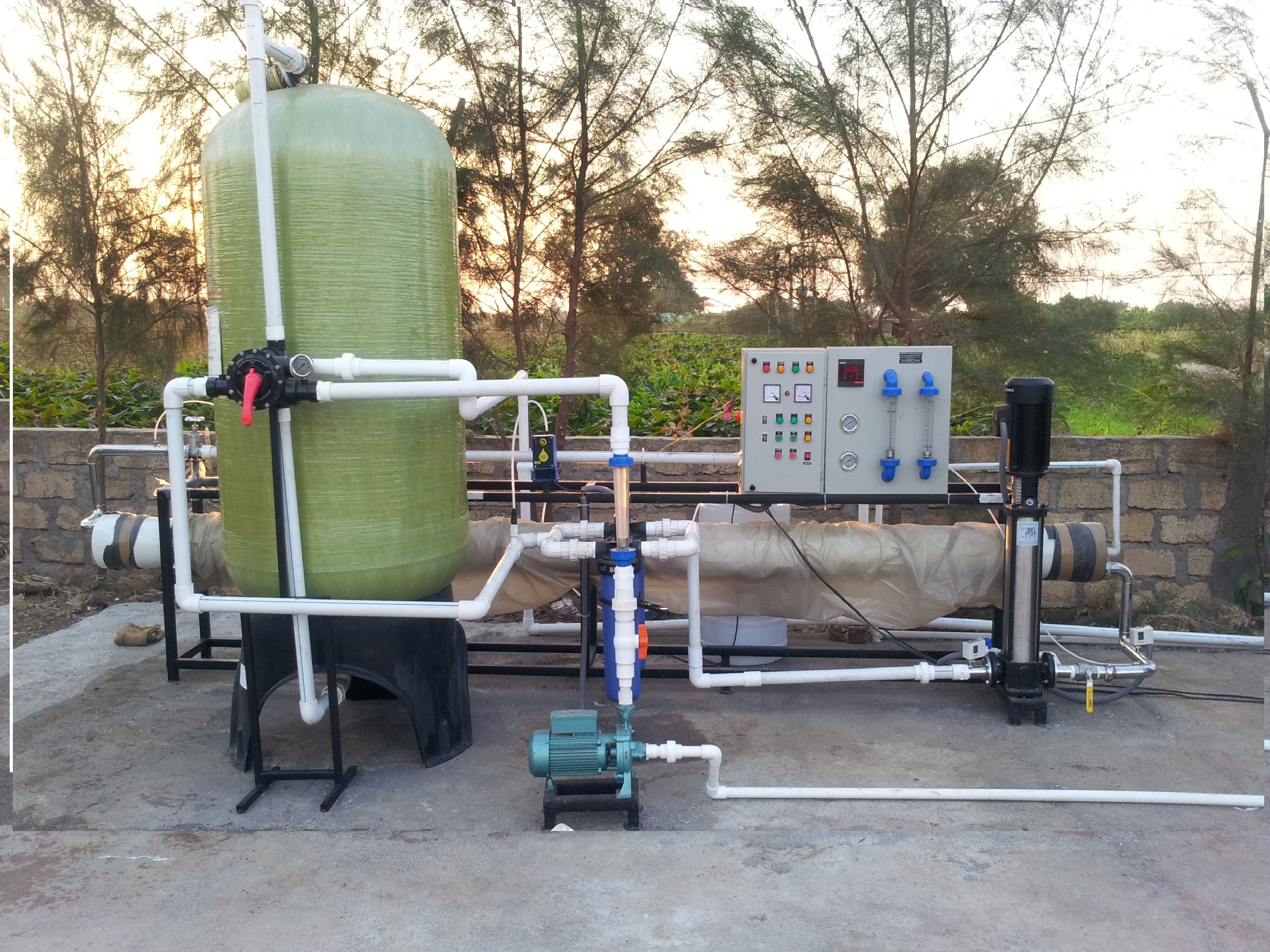 15000 LPH RO Plant Water Treatment Plant