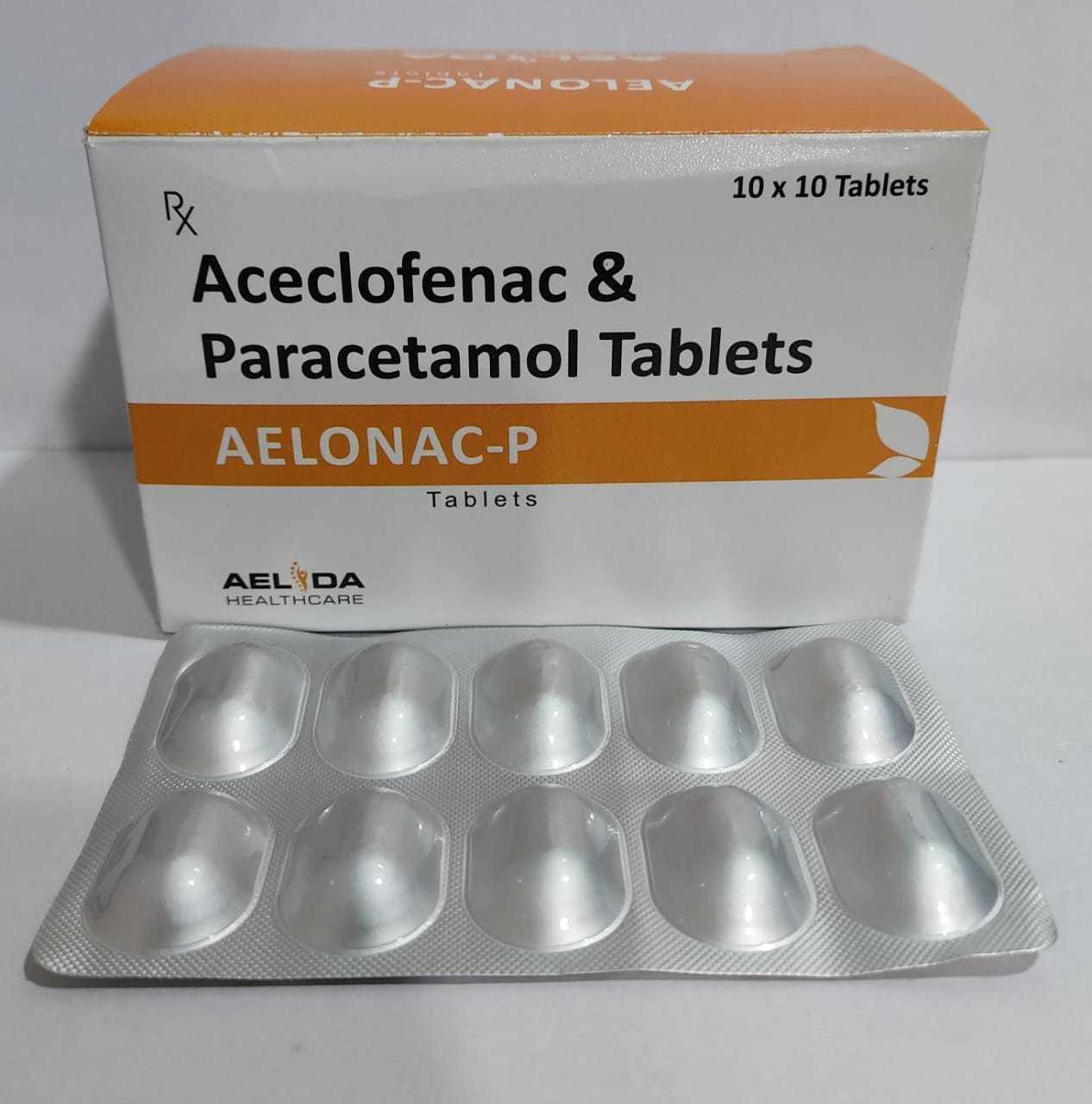 Aceclofenac paracetamol
