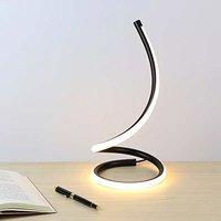Smartway Metal Table Lamp, Warm White
