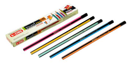 Multicolored Printed Pencil Set