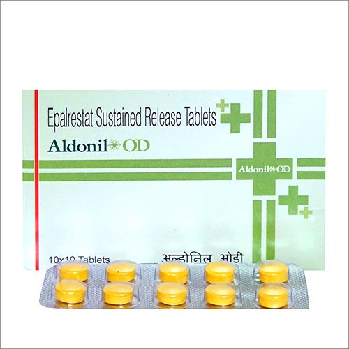 Epalrestat Sustained Release Tablets