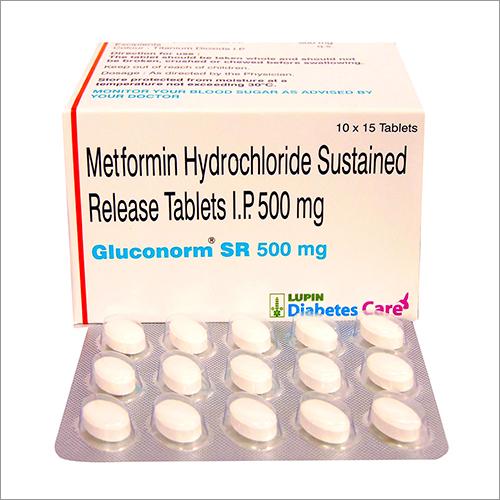 500 mg Metformin Hydrochloride SR Tablets