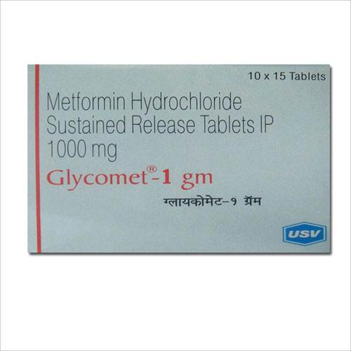 Metformin Hydrochloride SR Tablets 1000 mg