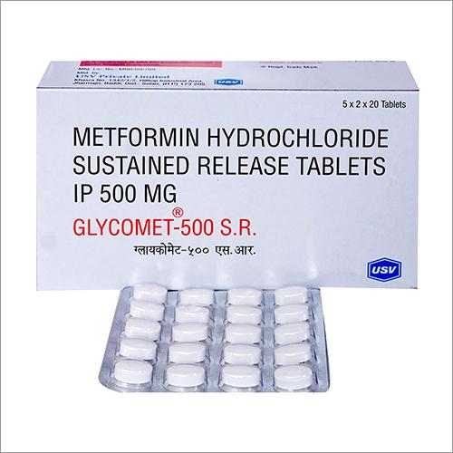Metformin Hydrochloride SR Tablets 500 mg