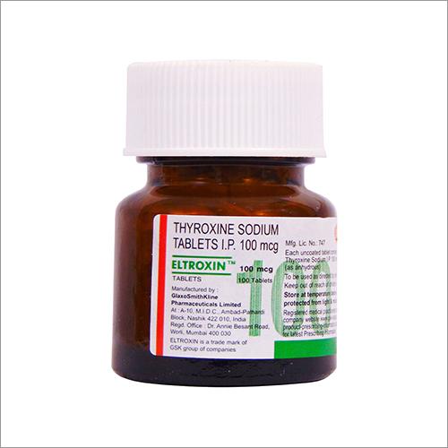 Thyroxine Sodium Tablets 100 Mcg
