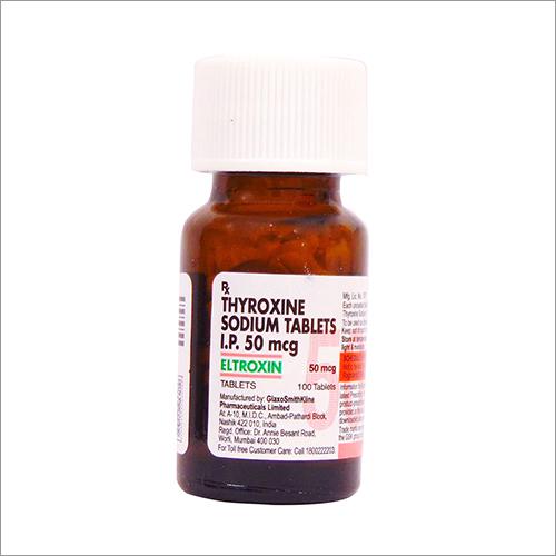 Thyroxine Sodium Tablets 50 Mcg