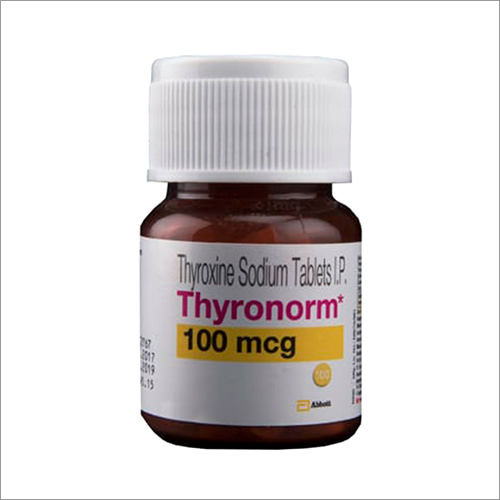 100 Mcg Thyroxine Sodium Tablets Ip
