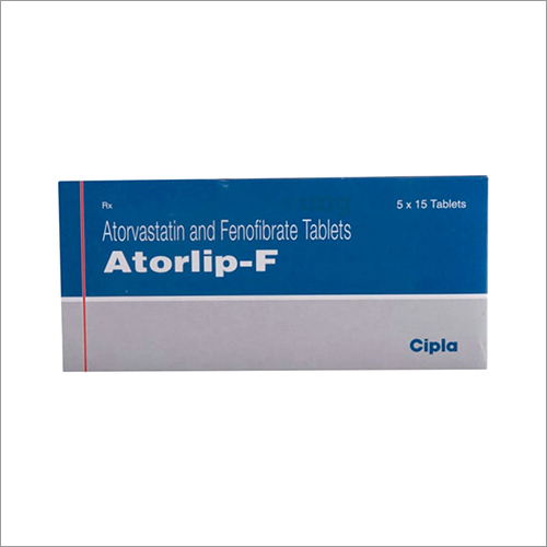 Atorvastatin And Fenofibrate Tablets