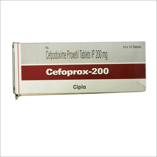 Cefpodoxime Proxetil Tablets 200 mg