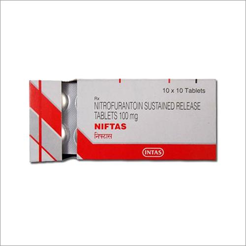 Nitrofurantion SR Tablets 100 mg