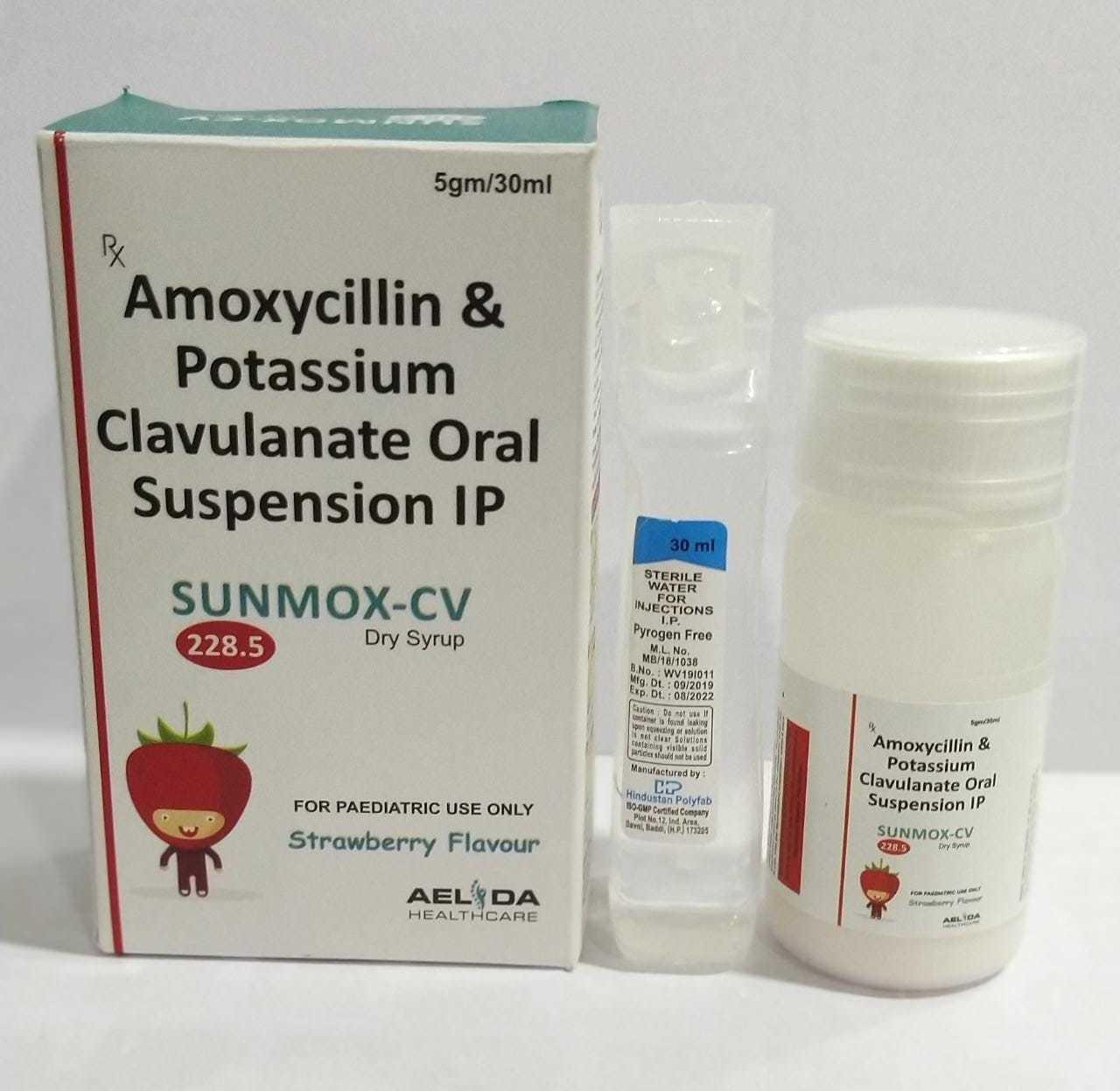 Amoxycillin And Clavulanic  Acid