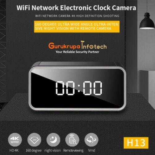 Spy Digital Clock Camera