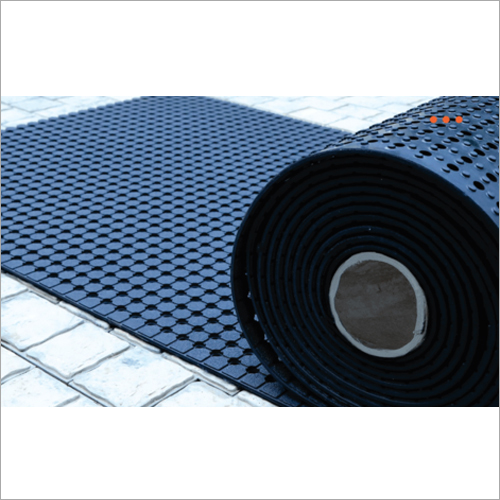 6 Ft X 33 Ft Anti Skid Mini Drain Holes Floor Mats Back Material: Rubber Tpr