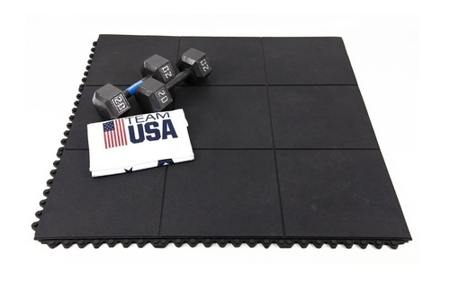 Plain Gym Floor Mat Back Material: Rubber Tpr