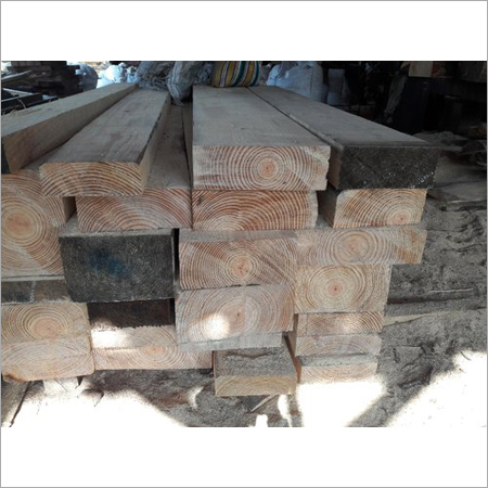 Seasoned Pine Wood Beam