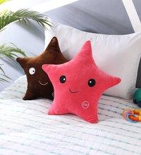 Star Pink Velvet Cushion