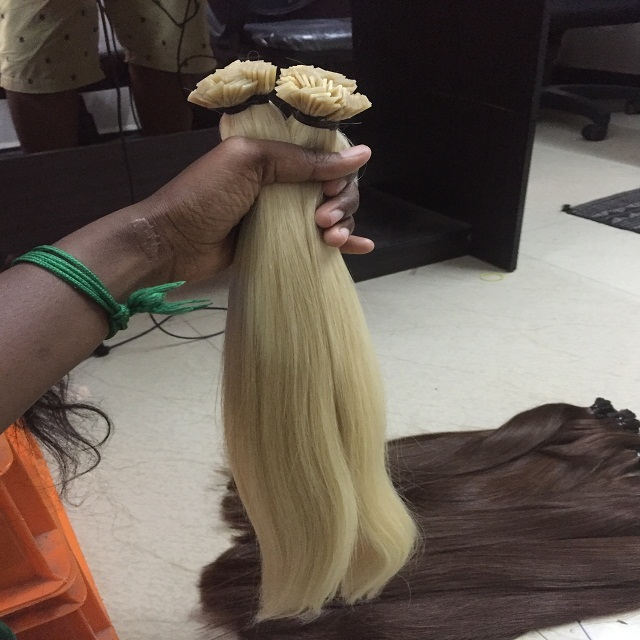 !!!!! AMAZING !!!! BLONDE HUMAN HAIR EXTENSIONS !!!!
