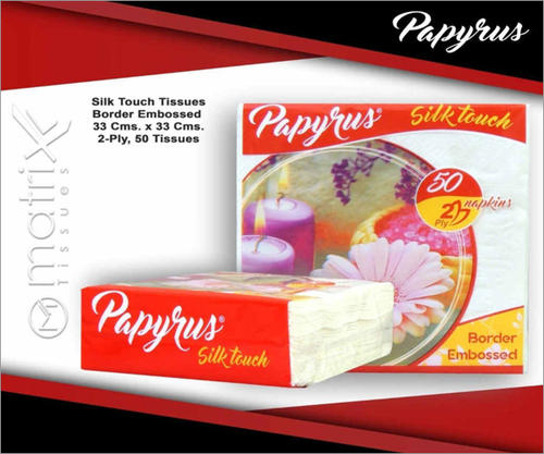 Silk Touch Border Embossed Tissues