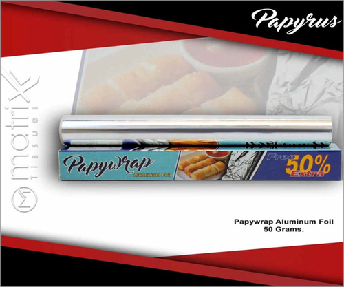 Papyrus Food Grade 50 GRMs Advanced Aluminum Foil
