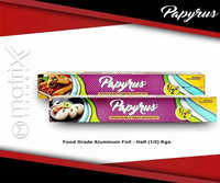 Papyrus Food Grade  Advanced Aluminum Foil