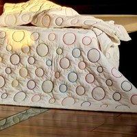 cotton embroiderey quilt