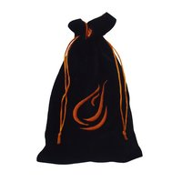 Embroidery Logo Velvet Promotional Drawstring Bag