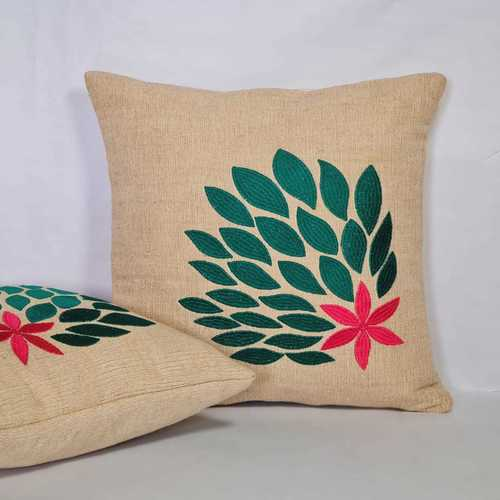 Linen Jute Embroidered
