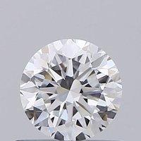 Round Brilliant Cut 0.50ct Lab Grown Diamond CVD E VVS2 IGI Crtified Stone