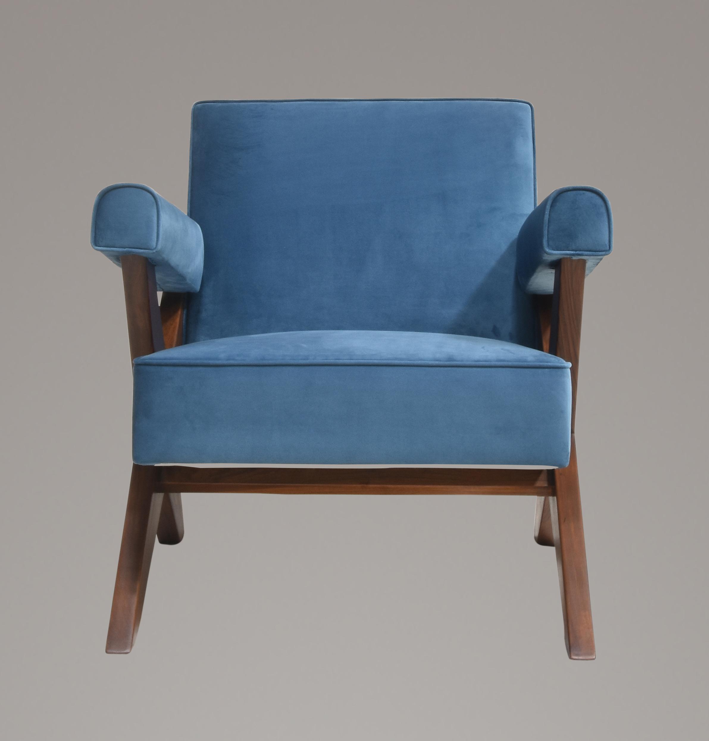 Pierre Jeanneret X Leg Lounge Chair