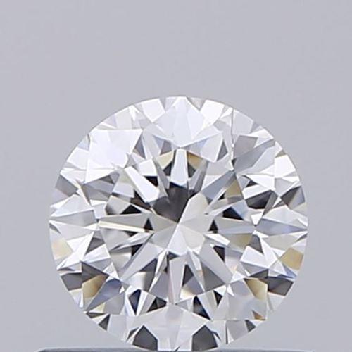 Round Brilliant Cut 0.50ct Lab Grown Diamond CVD D VVS2 IGI Crtified Stone